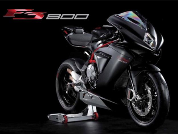 News motorcycle 2013: MV Agusta F3 800