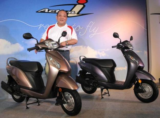 Honda Activa-I 110 (CBS): The compact scooter sold 575 €!