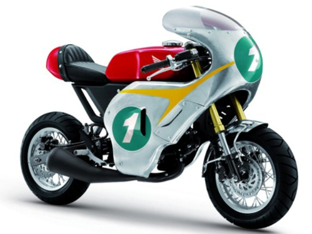 Special: Honda MSX 125 RC-X Mini Vintage Racer