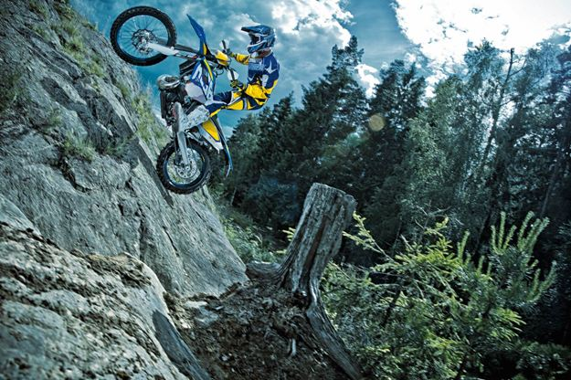Test Husaberg 250 and 350 FE 2014: Two in top form enduro Swedish
