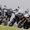 Comparative motorcycles Aprilia Caponord 1200 vs BMW R1200GS vs Ducati Multistrada 1200 S vs KTM 1190 Adventure