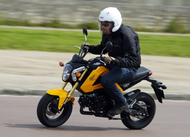 Honda 125 MSX: ideal on the road of beaches!