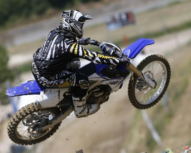 Test Yamaha YZ450F 2014: A blue for the elite of the Cross!