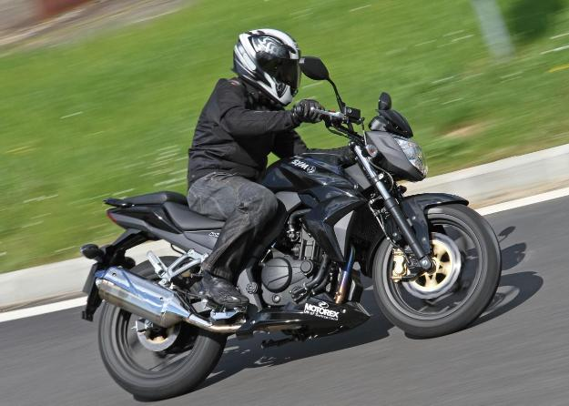 Test Sym Wolf 250 SBI: Like a young wolf