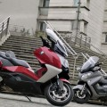 BMW C 650 GT Vs Suzuki Burgman 650 Executive 2013: the road is friendly!