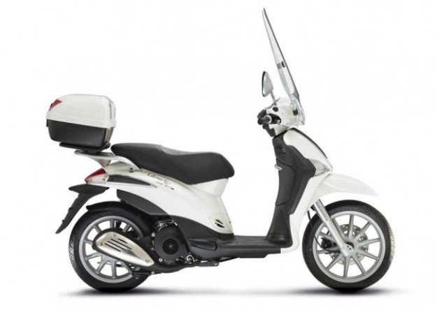 Scooter news 2014: Piaggio Liberty 125 3V More powerful