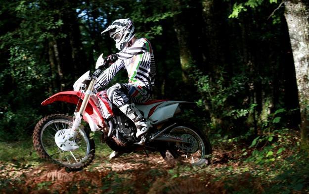 Test Red moto Honda CRF450R 2014