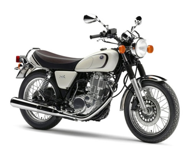 Motorcycle News 2014: Yamaha SR400, return ... kick