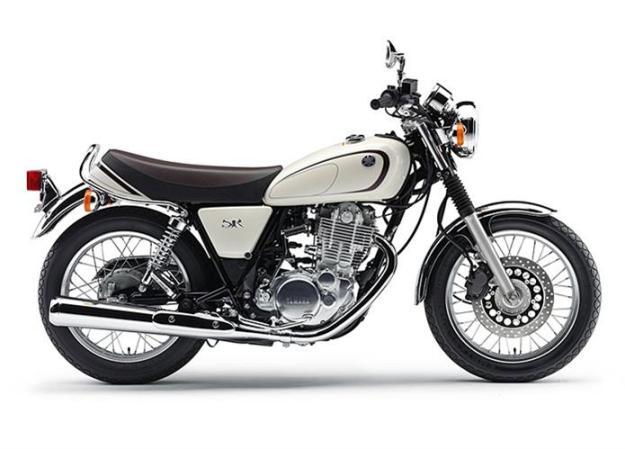 Motorcycle News 2014: Yamaha SR400, return ... kick