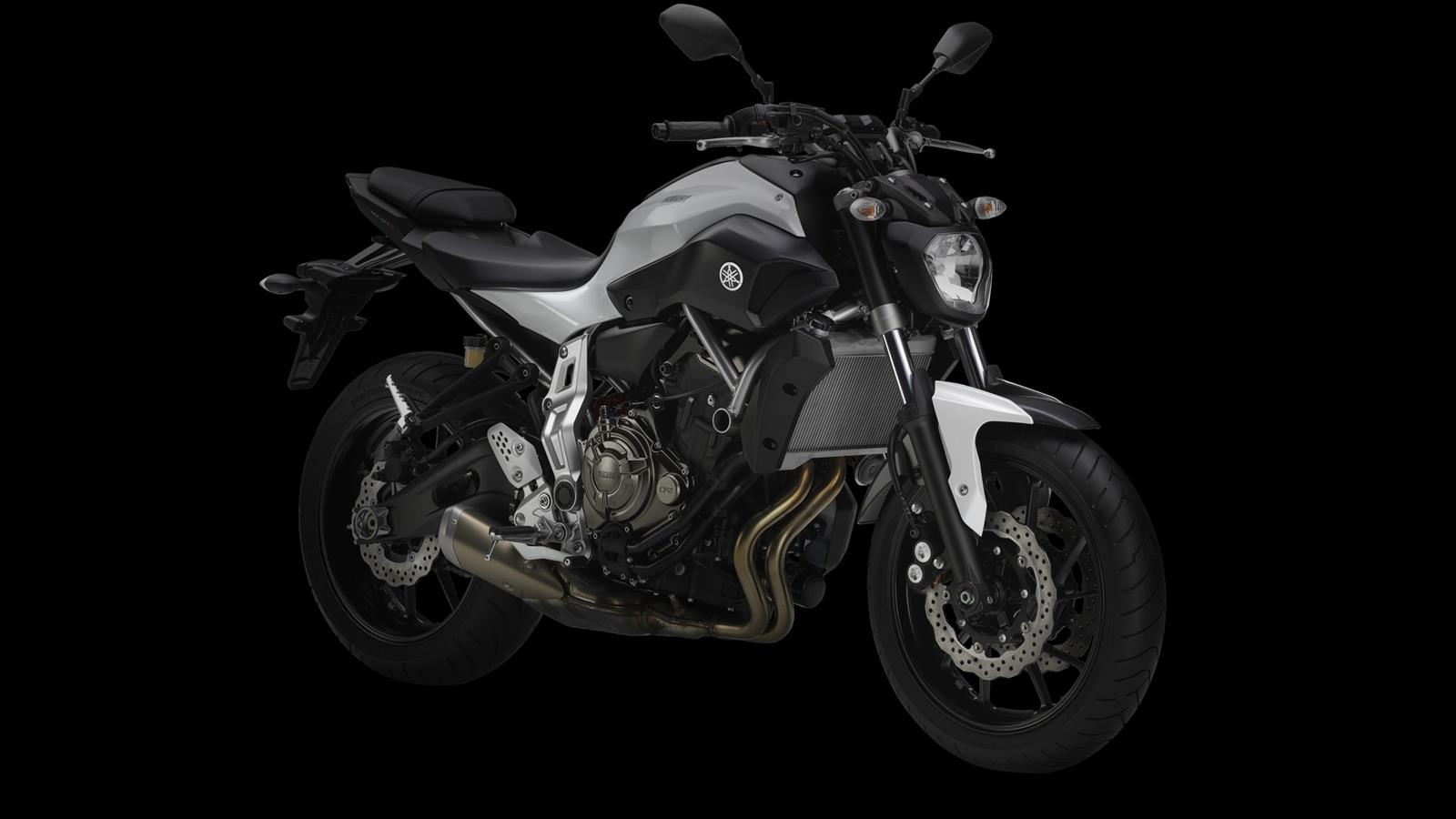 Yamaha-MT-07 Competition-White Wallpaper HD (1600 × 900)