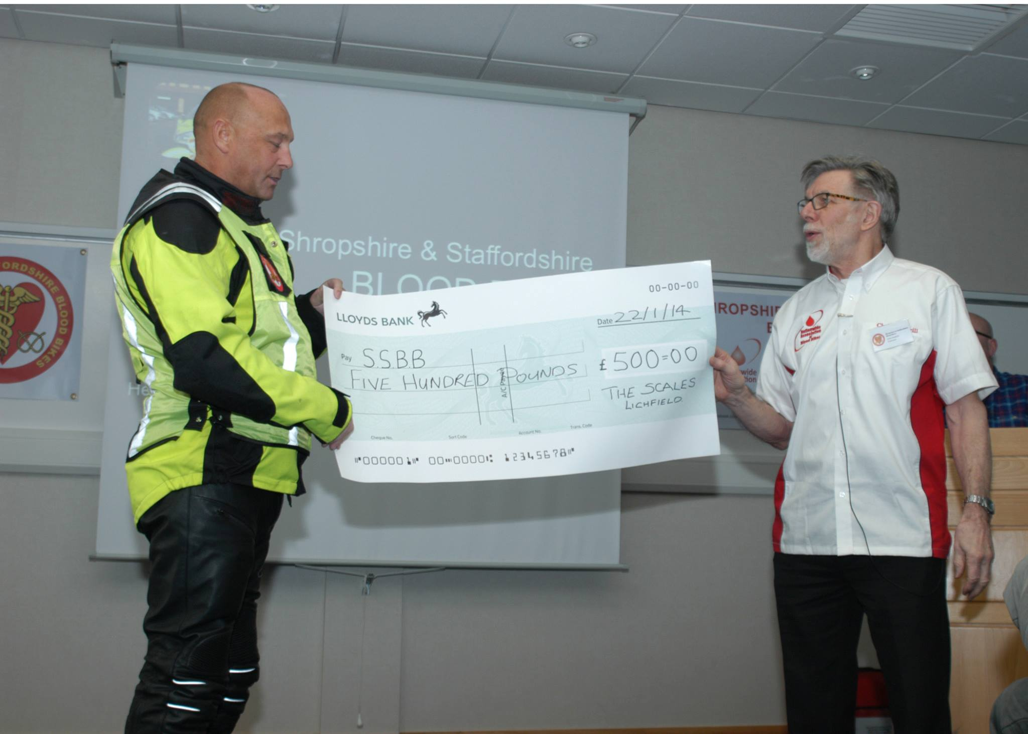 Blood bike service to launch at RAF Cosford (2048 × 1462)