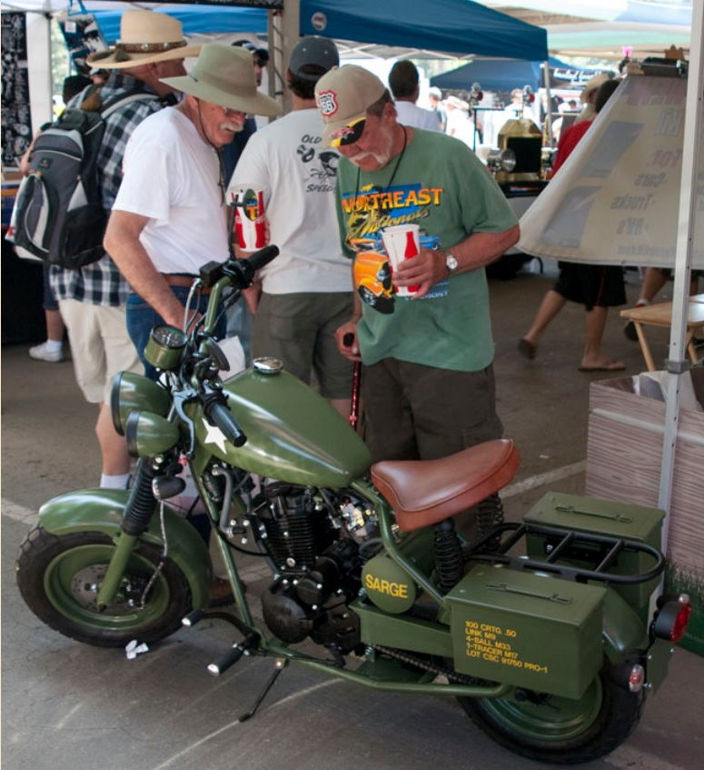 California Scooter  Military Series Picture (775 × 847)