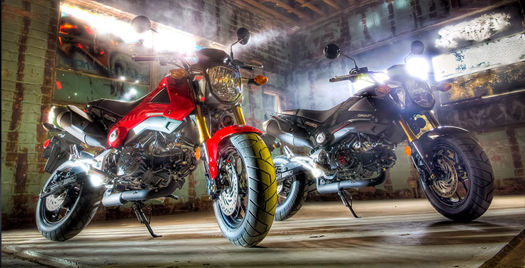 Honda Grom 125 both color (755 × 385)