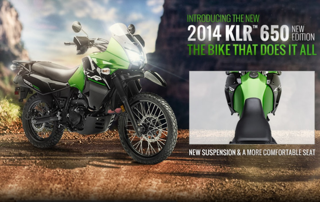 Kawasaki New KLR650 wallpaper (1115 × 705)