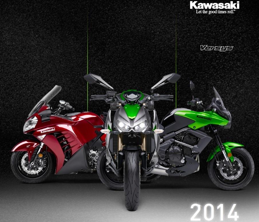 Kawasaki Versys Poster (905 × 777)