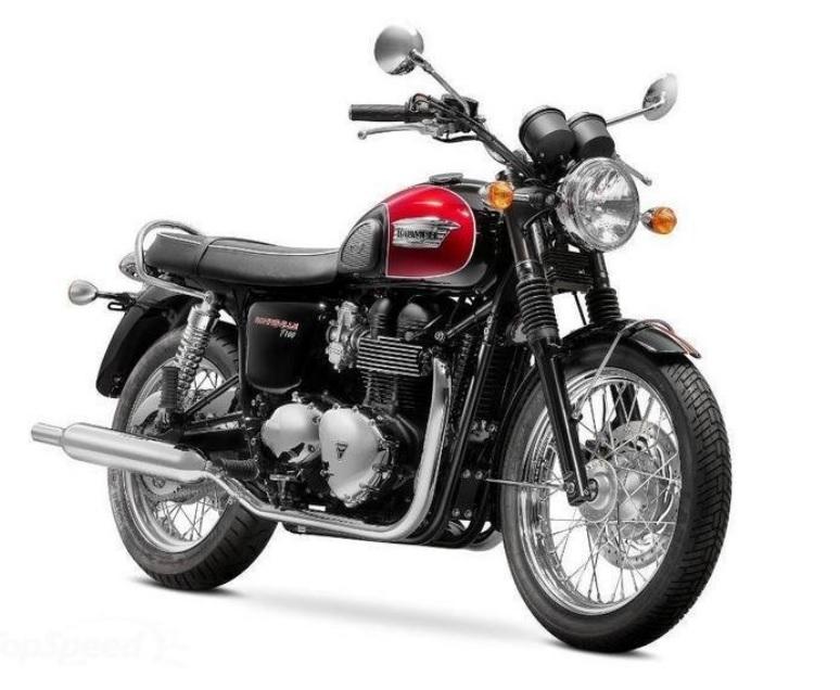 Triumph Bonneville Picture (774 × 636)