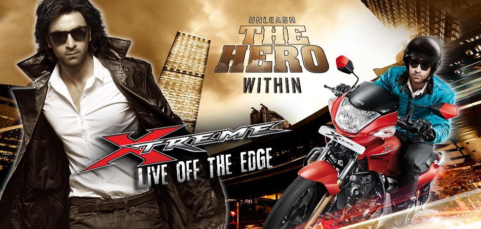 Hero Honda Xtreme poster(950 × 453)