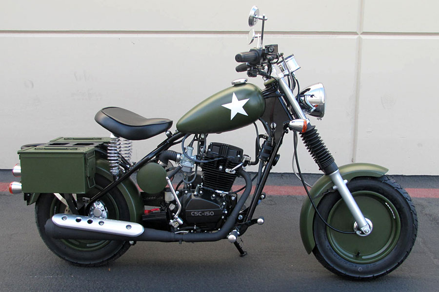 California Scooter Co. Military Series Picture (900 × 600)