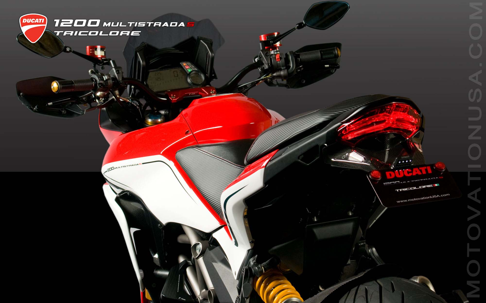 Ducati Multistrada 1200S Touring hd Wallpaper  (2000 × 1250)
