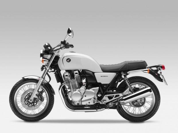 Honda CB1100 Deluxe white 2014 wallpaper (1024 × 767)