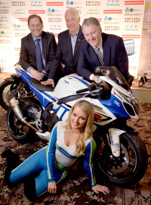 Promoter Billy Nutt is joined by his sponsors for the Belfast Motorcycle festival (628 × 854)