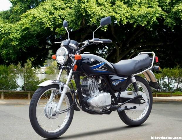 Suzuki 150GS Black wallpaper (1145x881)