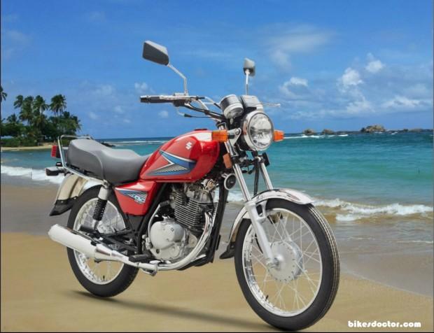 Suzuki 150GS red wallpaper (1149x883)