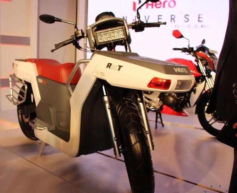 hero RNT diesel scooter picture (787 × 640)