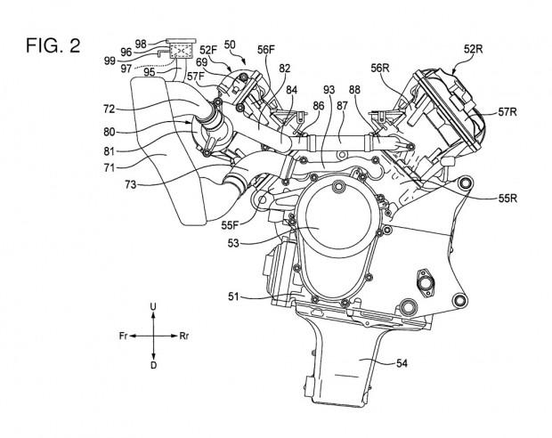 A V4 engine for the future Honda CBR 1000 RR