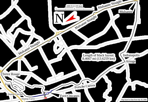 Circuit de la Sarthe track map