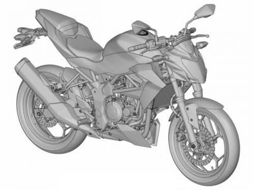 Kawasaki ER-2N sketch 2015