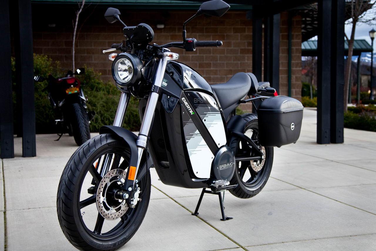 Brammo's Enertia Plus LE Award Winning Electric Motorcycle