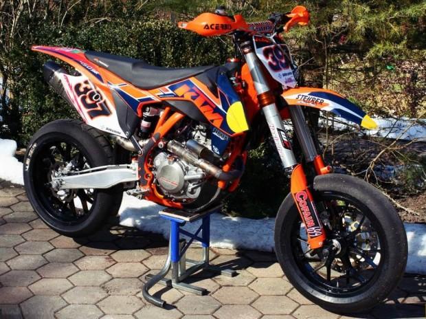 2014 new ktm 450 smr