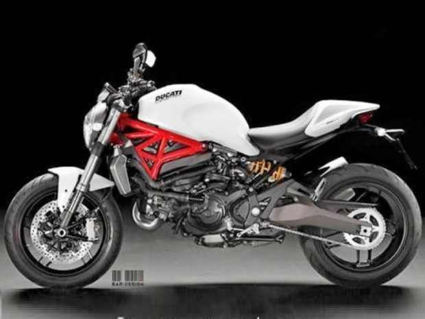 2015 Ducati Monster 821 Bar  picture (733 × 550)