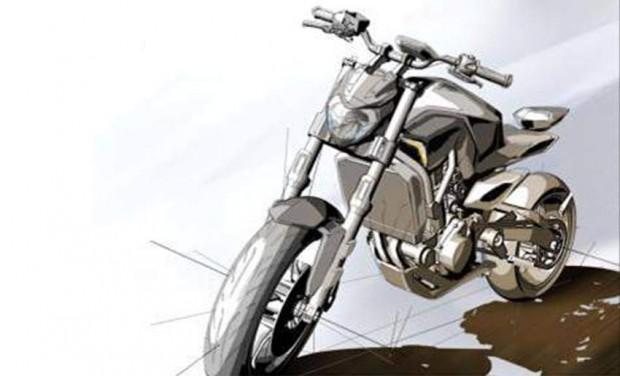 MT07 Sport Touring Sketch