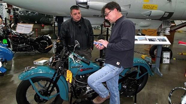 Paul Inkel Hebron Dennis Dangelo in MOTORCYCLE SHOW