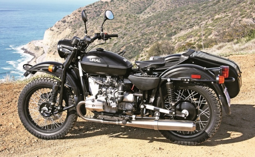 Ural Sidecar Side View Picture 11