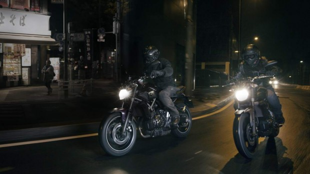 Yamaha MT-07 Deep Armor Action