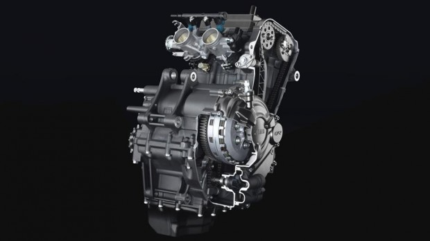 Yamaha MT-07 machenical engine image