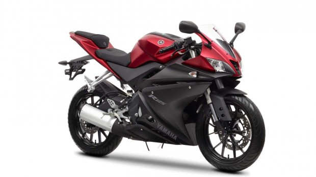 Yamaha YZF-R125 Anodized Red 2014 wallpaper (1275 × 717)