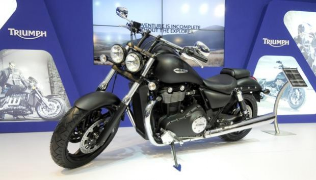 triumph motorbike in india
