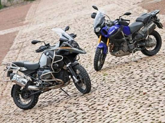 BMW R1200GS Adventure vs  Yamaha XT1200ZE super Tenere