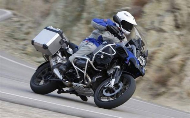 BMW R1200GS test ride