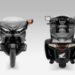 Honda Gold Wing F6B frond and back side view