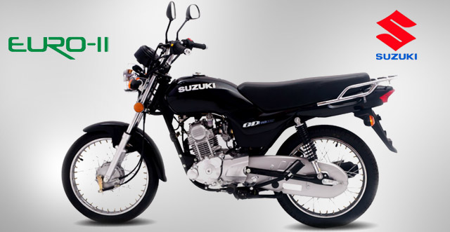 Suzuki GD 110 A Stylish Motorcycle 2014