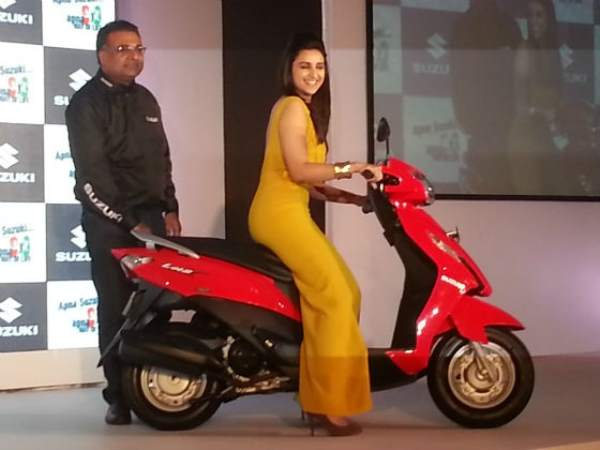 suzuki lets scooter new scooter launch photo