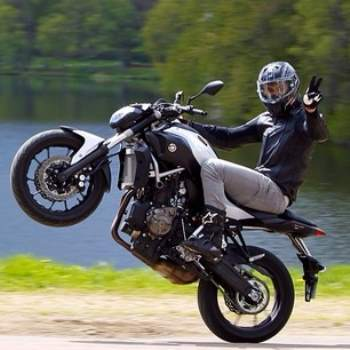 yamaha mt 07 action drive