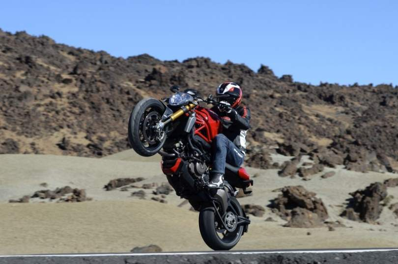 ducati monster 1200 s action drive