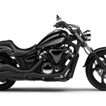 2014 Yamaha XVS1300 Custom EU Liquid Copper Action
