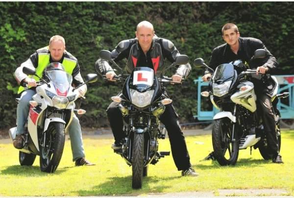 Motorcycles Crawley shop staff